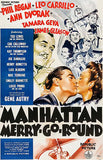 Manhattan Merry-Go-Round - 1937 - Movie Poster Magnet
