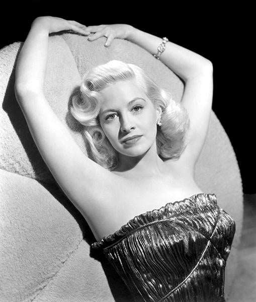 Marilyn Maxwell - Movie Star Portrait Magnet