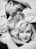 Marilyn Monroe - Montgomery Clift - The Misfits - Movie Still Magnet