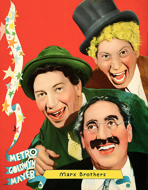 Marx Brothers - 1935 - MGM - Movie Star Personality Poster