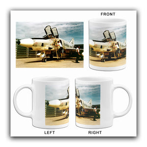 McDonnell Douglas RF-4C - 16th Tactical Recon Squadron - 1965 - Photo Mug