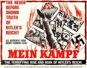 Mein Kampf - 1960 - Movie Poster Magnet