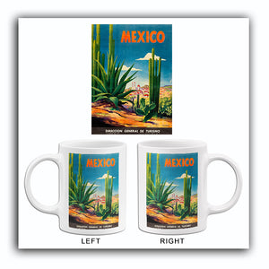 Mexico - 1950 - Travel Poster Mug