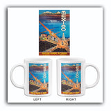 Mexico - The Great Metropolis - 1948 - Travel Poster Mug