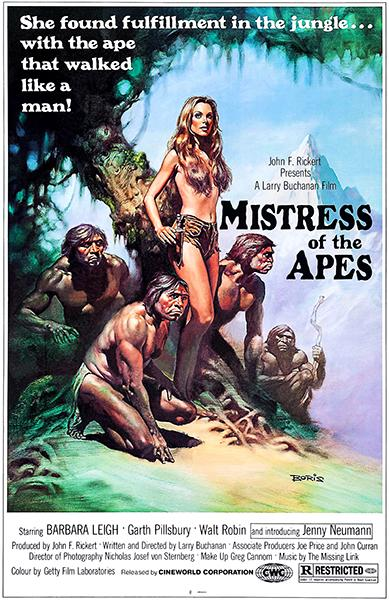 Mistress Of The Apes - 1979 - Movie Poster Mug