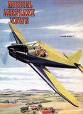 Model Airplane News - Culver Model V - March 1946 - Magazine Cover Poster