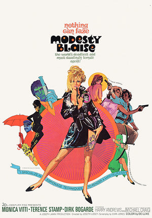Modesty Blaise - 1966 - Movie Poster
