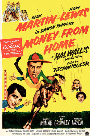 Money From Home - 1954 - Movie Poster