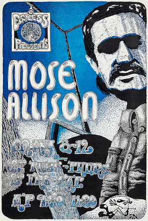 Mose Allison - 1973 - The Egress - Concert Magnet