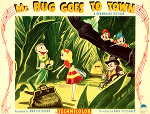 Mr Bug Goes To Town - 1941 - Movie Poster