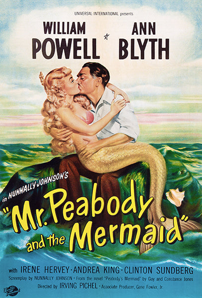 Mr. Peabody And The Mermaid - 1948 - Movie Poster