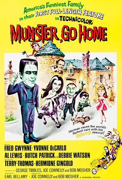Munster, Go Home - 1966 - Movie Poster Mug