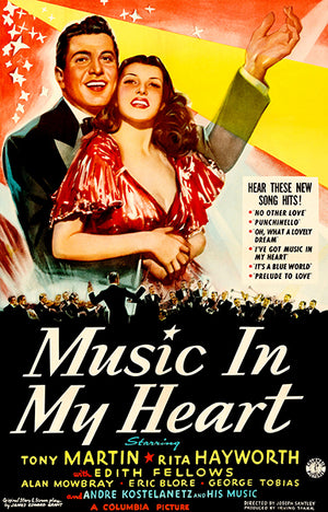 Music In My Heart - 1940 - Movie Poster Magnet
