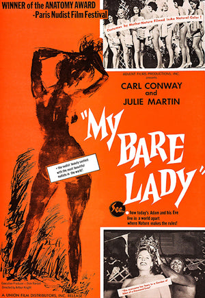 My Bare Lady - 1963 - Movie Poster Magnet
