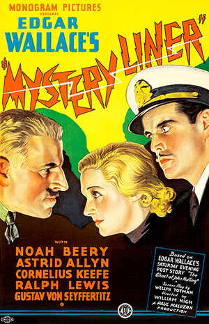 Mystery Liner - 1934 - Movie Poster