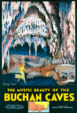 Mystic Beauty Of Buchan Caves - Victoria, Australia - 1940's - Travel Poster