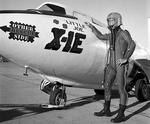 NASA Bell X-1E - Test Pilot Joseph Walker - 1958 - Edwards Air Force Base - Photo Poster