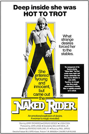 Naked Rider - 1973 - Movie Poster Magnet