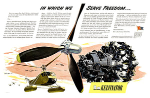 Nash-Kelvinator Propellers For Helicopters - 1943 - World War II - Propaganda Poster