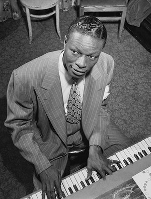 Nat King Cole - 1947 - Singer Portrait Poster