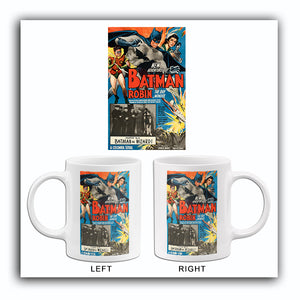 New Adventures Of Batman & Robin - Batman vs Wizard - 1949 - Movie Poster Mug