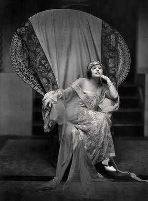 Norma Talmadge - Movie Star Portrait Poster