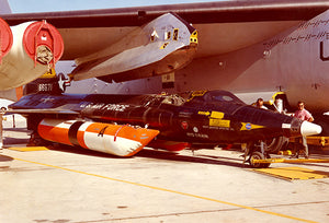 North American X-15A-2 With External Fuel Tanks - Photo Magnet