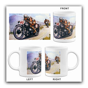 Norton A Senior TT Winner - Norton Motorcycle Racing - Promotional Mug