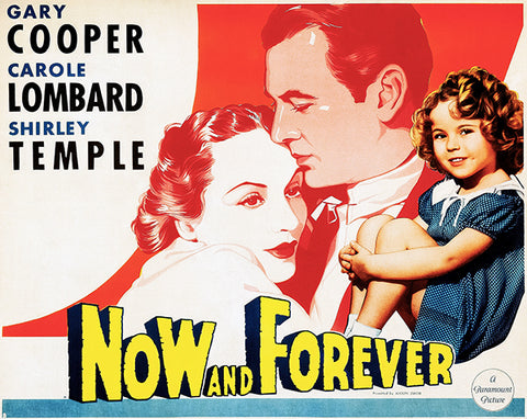 Now And Forever - 1934 - Movie Poster
