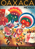 Oaxaca - Mexico - 1947 - Travel Poster Magnet