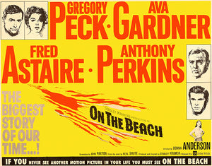 On The Beach - 1959 - Movie Poster