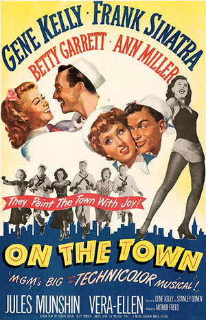 On The Town - 1949 - Movie Poster