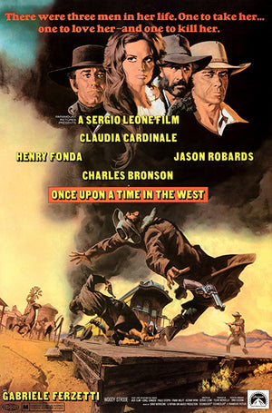 Once Upon A Time In The West - 1969 - Movie Poster Magnet