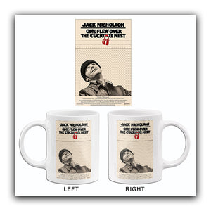 One Flew Over the Cuckoo's Nest - 1975 - Movie Poster Mug