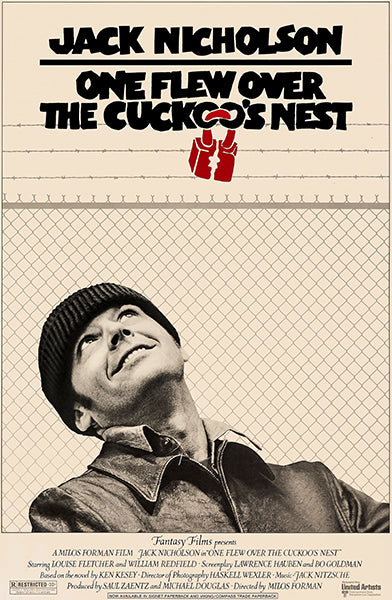 One Flew Over the Cuckoo's Nest - 1975 - Movie Poster