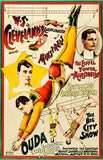 Ouda The European Marvel - Acrobat - 1890 - Show Poster