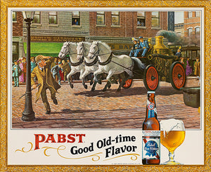 Pabst Good Time Flavor - 1950's - Promotional Advertising Poster