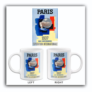 Paris - Exposition Internationale - Mai Novembre - 1937 - Travel Poster Mug