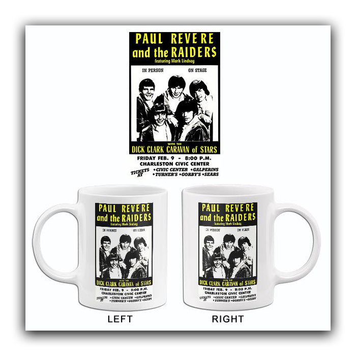 Paul Revere & The Raiders - 1968 - Concert Mug