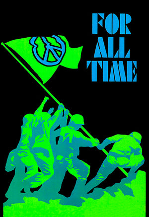 Peace For All Time - 1970's - POP Art Magnet