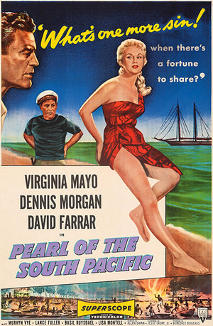 Pearl Of The South Pacific - 1955 - Movie Poster
