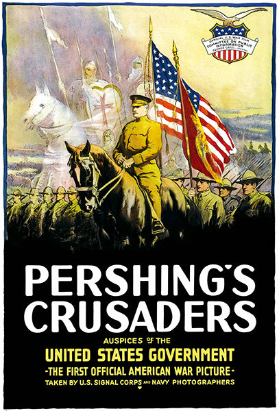Pershing's Crusaders - 1918 - World War Film - Propaganda Mug