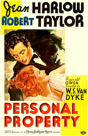 Personal Property - 1937 - Movie Poster Magnet