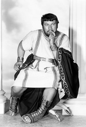 Peter Ustinov - Spartacus - Movie Still Poster