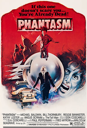 Phantasm - 1979 - Movie Poster