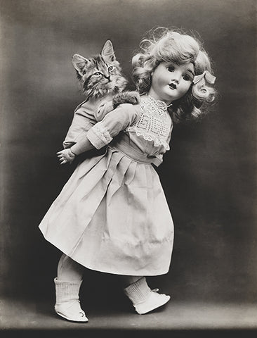 Pick-A-Pack - Cat Kitten Piggyback Ride Doll - 1914 - Photo Poster