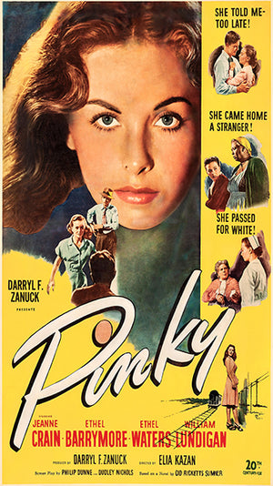 Pinky - 1949 - Movie Poster