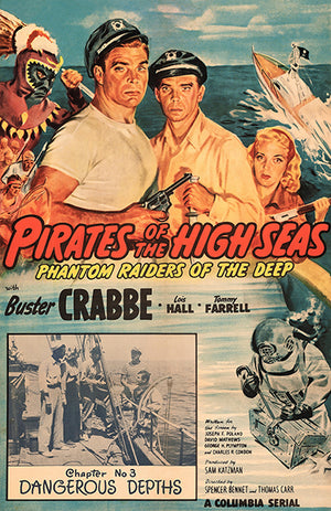 Pirates Of The High Seas - 1950 - Movie Poster