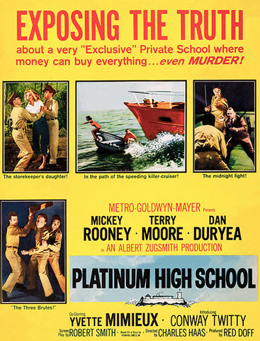 Platinum High School - 1960 - Movie Poster