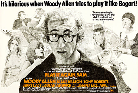 Play It Again, Sam - 1973 - Movie Poster